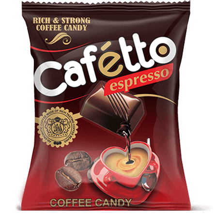 cafetto, coffee flavour candy, derby india, confectionery packaging design, brij design studio, suncrest food maker, mumbai, india, wholesale candies, candy lollipop manufacturer, confectionery products, confectionery products