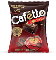 caffeto, coffee flavoured candy