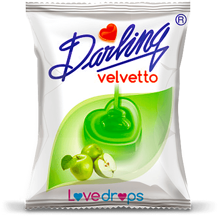 darling velvetto, green apple flavour candy, velvetto assorted candies
