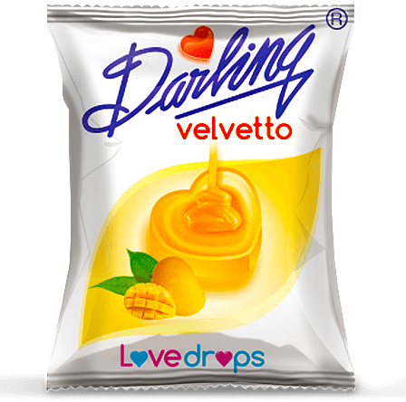 darling velvetto, mango flavour candy, velvetto assorted candies