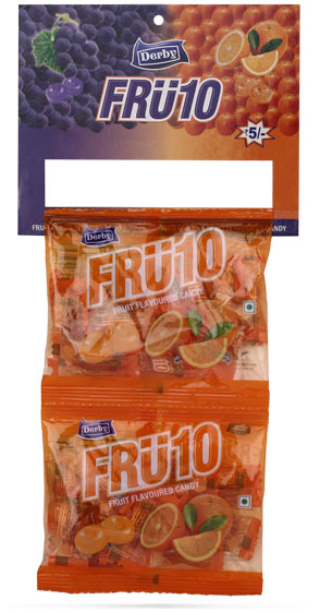 fru10 orange, fru10 orange flavoured candy