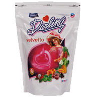 darling velvetto, blackberry flavour candy, litchi flavour candy, mango flavour candy, lemon flavour candy, green apple flavour candy, tamarind flavour candy, peach flavour candy, red cherry flavour candy, center filled candy, heart shape candy, assorted candies, derby india, confectionery packaging design, brij design studio, suncrest food maker, mumbai, india, wholesale candies, candy lollipop manufacturer, gitpack
