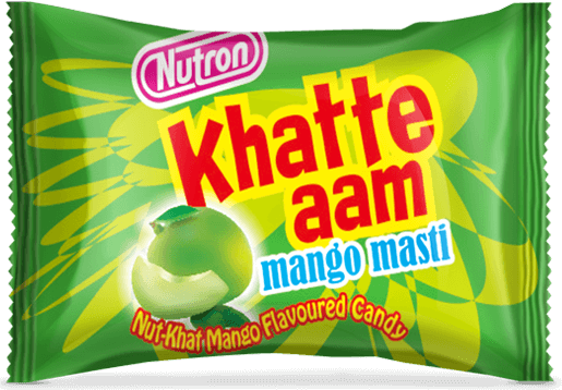 khatte aam, raw mango flavoured candy