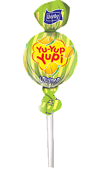 yu yup yupi, mango flavour lollipop, flavour lollipops