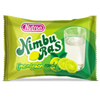 nimburas, lemon flavoured candy
