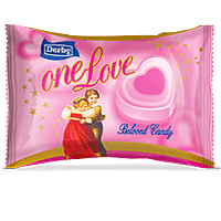 one love, litchi flavoured candy