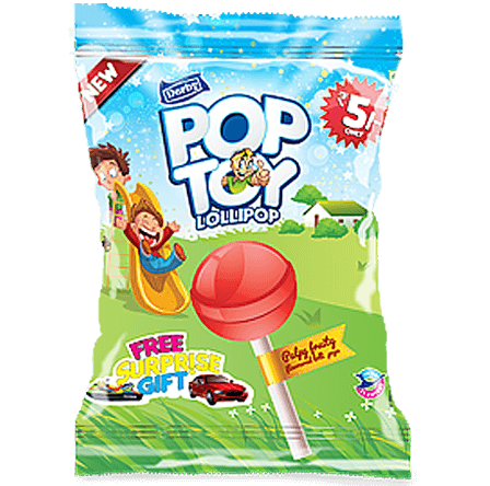 poptoy, fruit flavoured lollipop, pop toy fruit flavoured lollipop