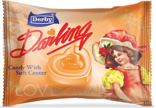 darling orange, orange flavoured candy, assorted candies
