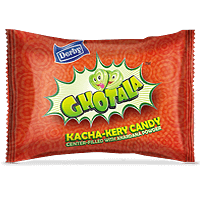 ghotala, kacha kery flavoured candy