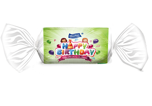 happy birthday, grapes flavoured toffee, birthday giftpack