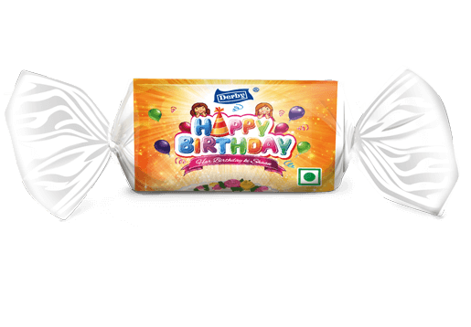 happy birthday, kacha aam flavoured toffee, birthday gift pack
