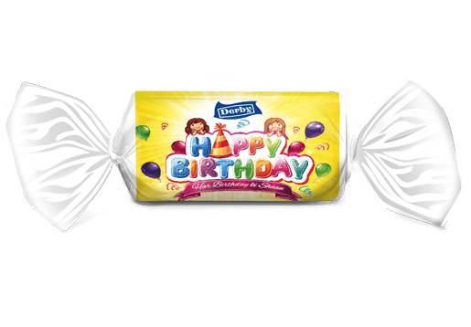 happy birthday, ripe mango flavoured toffee, birthday gift pack