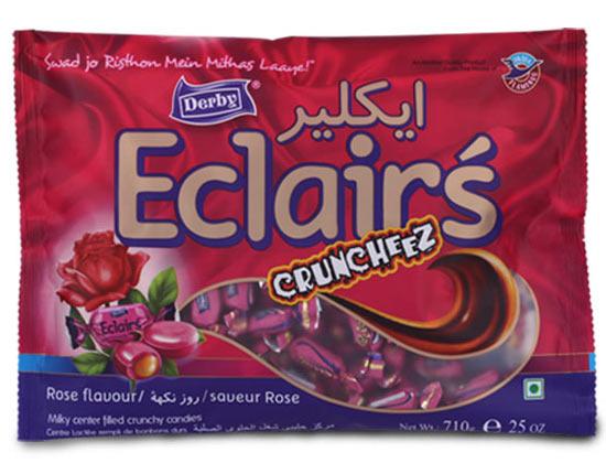 rose eclair, rose flavoured eclairs