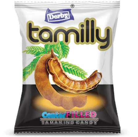 tamily, tamarind flavour candy, imli flavour candy, center filled candy, khatta meetha candy, sweet sour candy, derby india, confectionery packaging design, brij design studio, suncrest food maker, mumbai, india, wholesale candies, candy lollipop manufacturer, confectionery products
