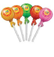 juc-pop, strawberry flavour lollipop, derby india, confectionery packaging design, suncrest food maker, mumbai, india, wholesale lollipops, candy lollipop manufacturer